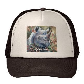Gorra de la regla de los Rhinos