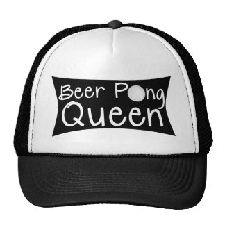 Gorra de la reina de Pong de la cerveza