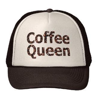 Gorra de la reina del café