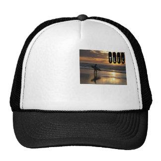 Gorra de la resaca de la puesta del sol
