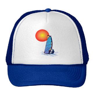 Gorra de la resaca del viento