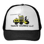 Gorra de la retirada de la nieve de Tahoe Workz