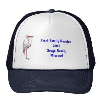 Gorra de la reunión de la cigüeña