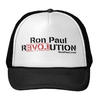 Gorra de la revolución de Ron Paul