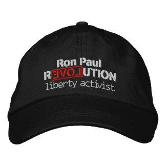 Gorra de la revolución de Ron Paul Gorra De Beisbol Bordada