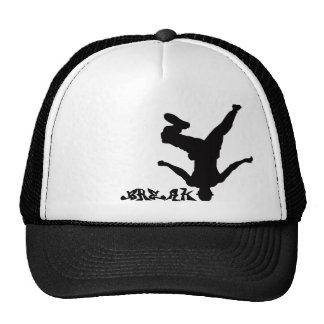 Gorra de la rotura