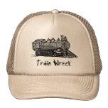 Gorra de la ruina del tren