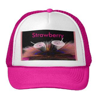 Gorra de la sacudida de fresa