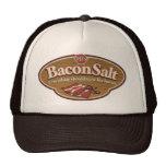 Gorra de la sal del tocino - logotipo de las BS