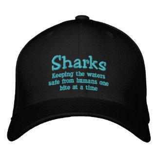 Gorra de la semana del tiburón gorros bordados