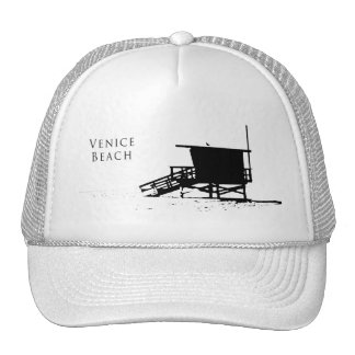 Gorra de la silueta de la playa de Venecia