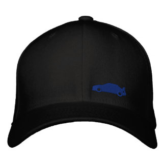 Gorra de la silueta del coche de Subaru Wrx Gorra De Béisbol Bordada