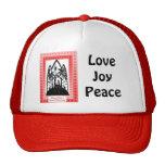 Gorra de la silueta del navidad