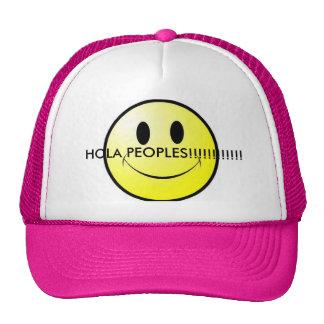 gorra de la smiley-cara