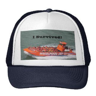 Gorra de la supervivencia del paseo del barco del