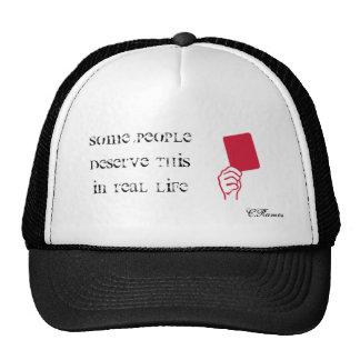 Gorra de la tarjeta roja por C.Ramos