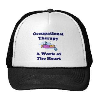 Gorra de la terapia profesional