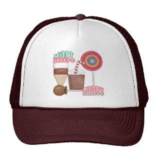 Gorra de la tienda del caramelo