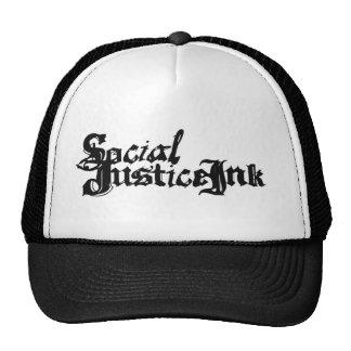Gorra de la tinta de la justicia social