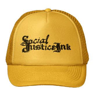 Gorra de la tinta de la justicia social (amarillo)