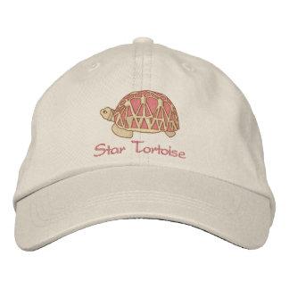 Gorra de la tortuga de la estrella gorra bordada
