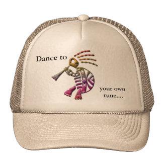 Gorra de la tortuga del jugador de flauta de Kokop