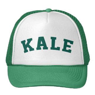 Gorra de la universidad de la col rizada