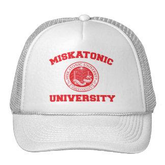 Gorra de la universidad de Miskatonic