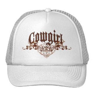 Gorra de la vaquera