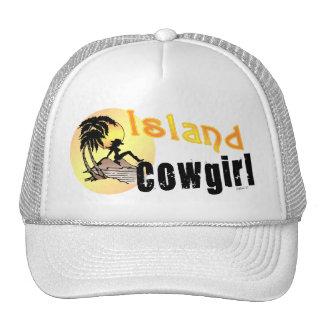 Gorra de la vaquera de la isla