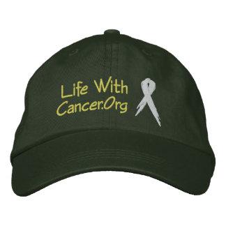 Gorra de la victoria de LifeWithCancer Org Gorras De Béisbol Bordadas
