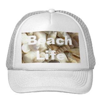 Gorra de la vida de la playa de los Seashells