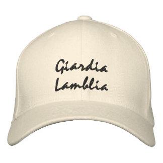 Gorra de Lamblia del Giardia Gorra De Beisbol Bordada