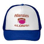 Gorra de las alergias de los soplos