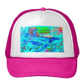 gorra de las ballenas jorobadas