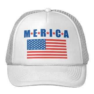 Gorra de las barras y estrellas de Merica