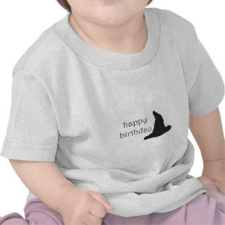 gorra de las brujas del feliz cumpleaños camisetas