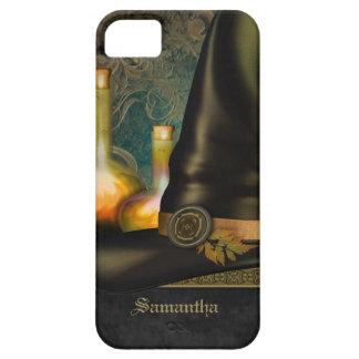 Gorra de las brujas personalizado iPhone 5 Case-Mate cobertura