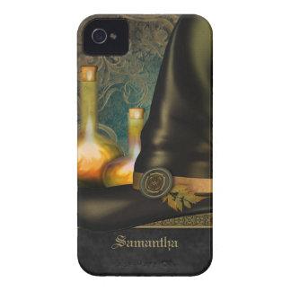 Gorra de las brujas personalizado Case-Mate iPhone 4 carcasa