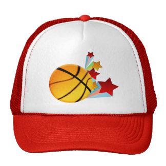 Gorra de las estrellas del baloncesto