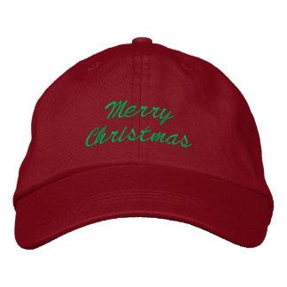 Gorra de las Felices Navidad Gorros Bordados