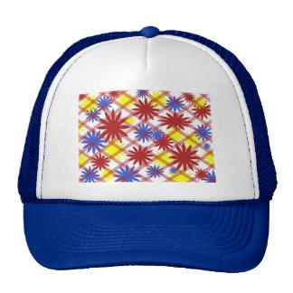 gorra de las flores