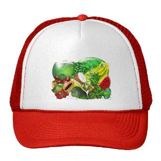Gorra de las frutas tropicales