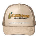Gorra de las idiomas del hombre de las cavernas
