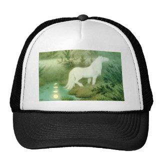 Gorra de las ilustraciones del Kelpie del caballo