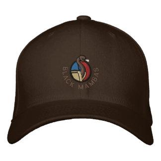 Gorra de las mambas negras gorra de beisbol bordada