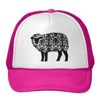 Gorra de las ovejas del damasco