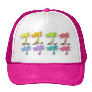Gorra de las palmeras del verano