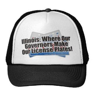 Gorra de las placas del gobernador