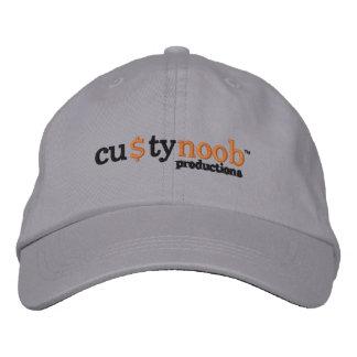 Gorra de las producciones de Custy Noob Gorras De Beisbol Bordadas
